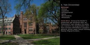 Yale Üniversitesi Psikoloji Programı