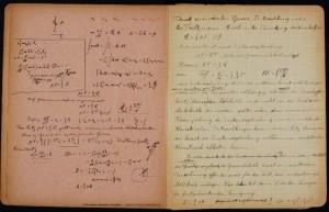 Einstein'ın Not Defteri