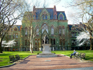Amerika'da En İyi Okullar: UPenn Üniversitesi