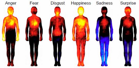 Mutluluk tüm vücudumuzu kaplıyor!