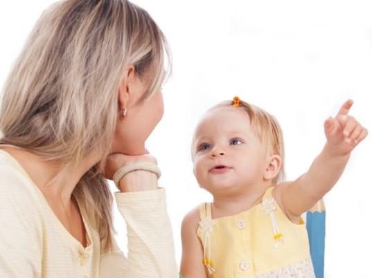 Bebeklerde parmakla gösterme ne zaman başlar?