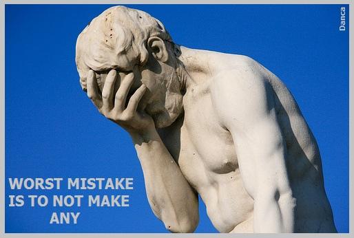 Hata yapmak sorun değil