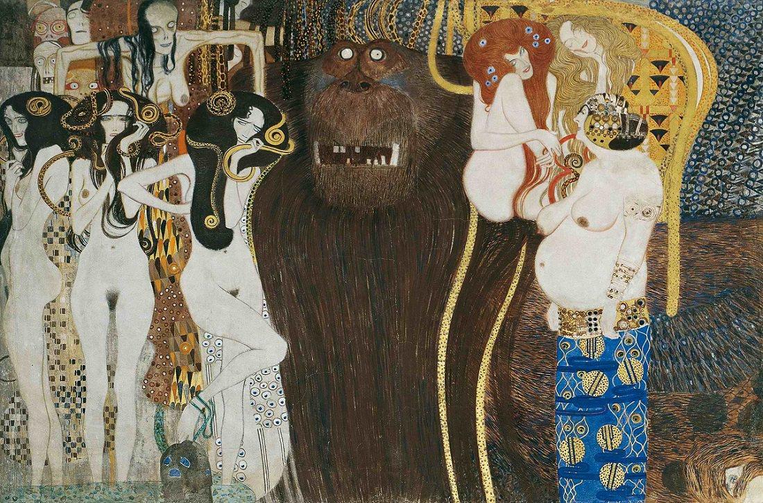 Gustav Klimt - Beethoven Friz