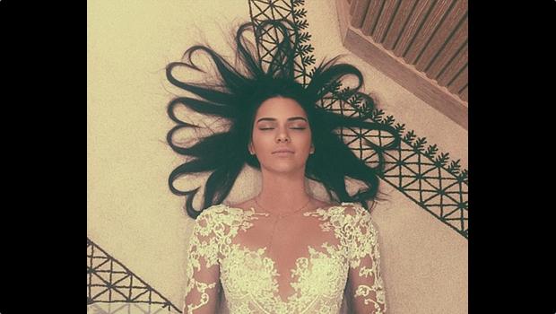 Saç Tipimiz ve Biz - Kendall Jenner