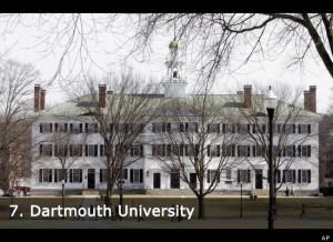 Amerika'da Eğitim: Dartmouth Üniversitesi