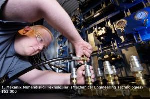 Amerika'da Eğitim: Mekanik Mühendisliği Teknolojileri