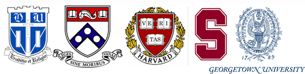 Duke, UPenn, Harvard, Stanford, Georgetown Istanbul'da