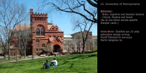 University of Pennsylvania Psikoloji Programı