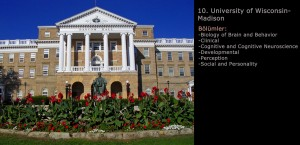 University of Wisconsin Psikoloji Programı