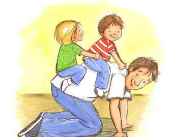 Babalar çocukları ile nasıl oyunlar oynamalılar?