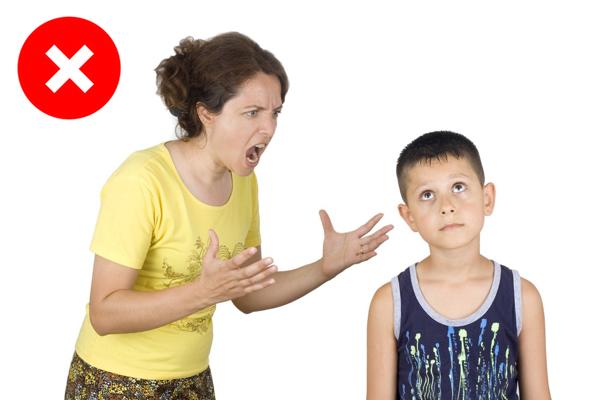 Çocuğuma kötü davranmak istemiyorum