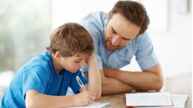 Anne-baba ile ödev yapmak