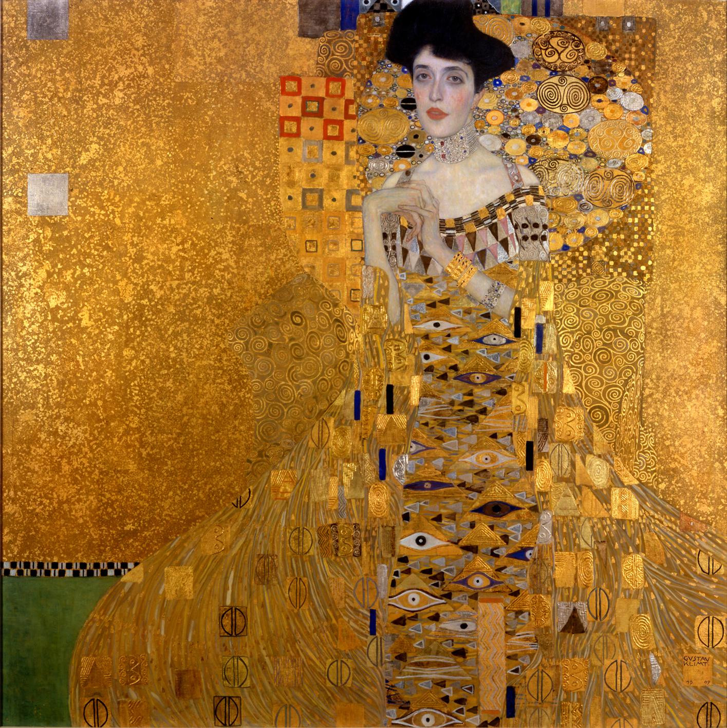 Gustav Klimt - Adele Bloch Bauer'in Portresi