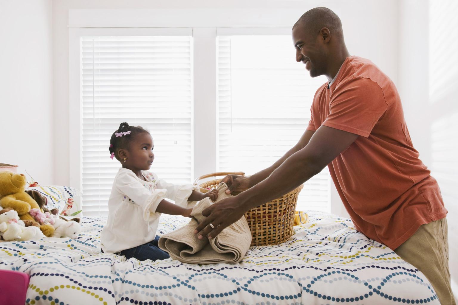 Çocuklarla Ev İşi Yapma