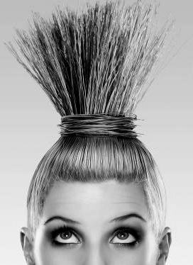 Kadın-Erkek Ilişkileri - Saçını Süpürge Etmiş Kadın